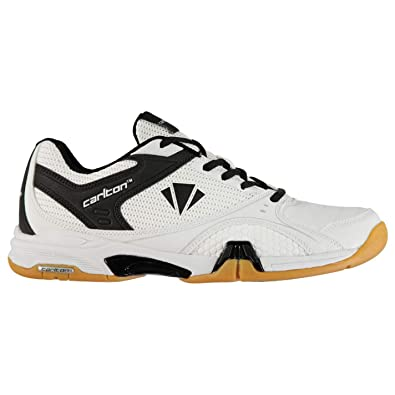 Carlton Mens Airblade Badminton Sports Shoes Trainers White Blue UK 7 (41) 9cc7644fb