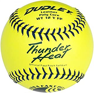 Dudley Usssa Thunder chaleur Fast Pitch Softball – Lot de 12 4U-147Y