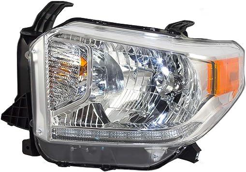 14-17 TOYOTA TUNDRA PICKUP BUMPER DRIVING CHROME FOG LIGHT LAMP KIT W//BEZEL+BULB