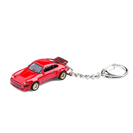 Llavero con coche en miniatura, Porsche 934 RSR rot, 1:87