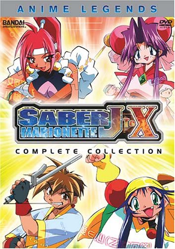 Saber Marionette J to X - Anime Legends Complete Collection by Bandai