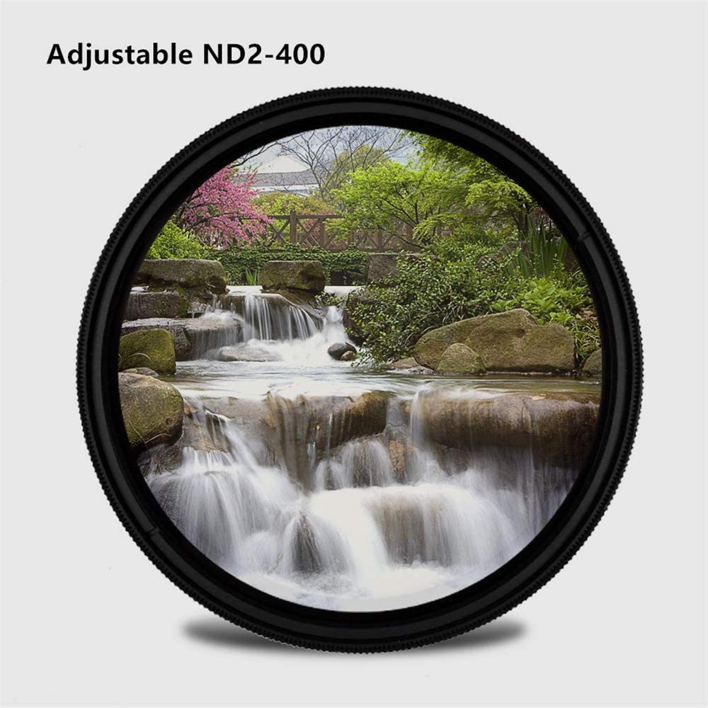 ZOMEI Slim Adjustable Neutral Density ND2-ND400 Filter 77mm Coating ND Filter