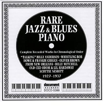 Rare Jazz & Blues Piano