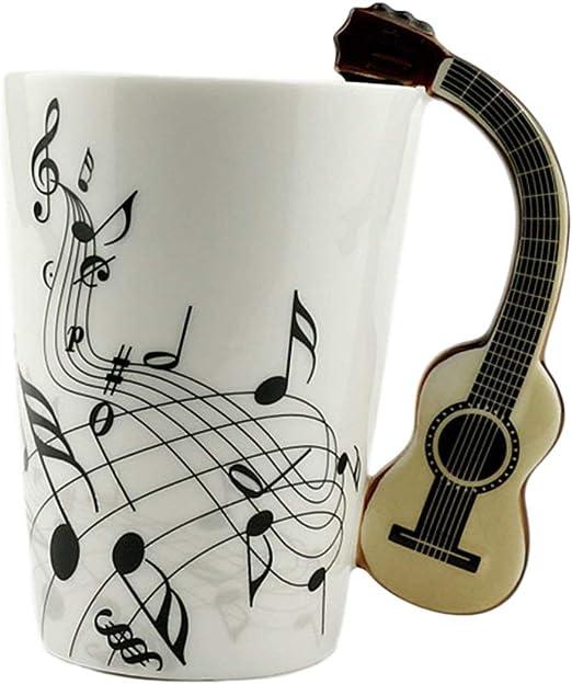 Ballylelly Novedad Arte Taza de cerámica Taza Instrumento musical ...