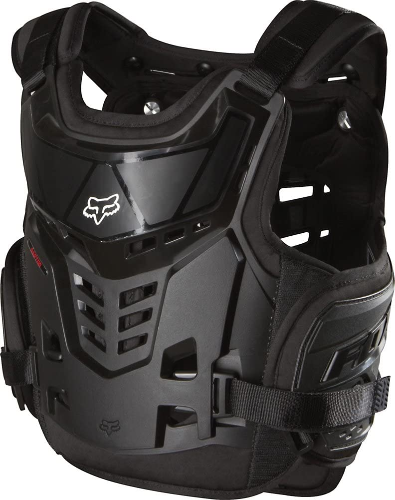 Fox Racing Raptor Proframe LC Youth Roost Deflector Off-Road//Dirt Bike Motorcycle Body Armor Black One Size