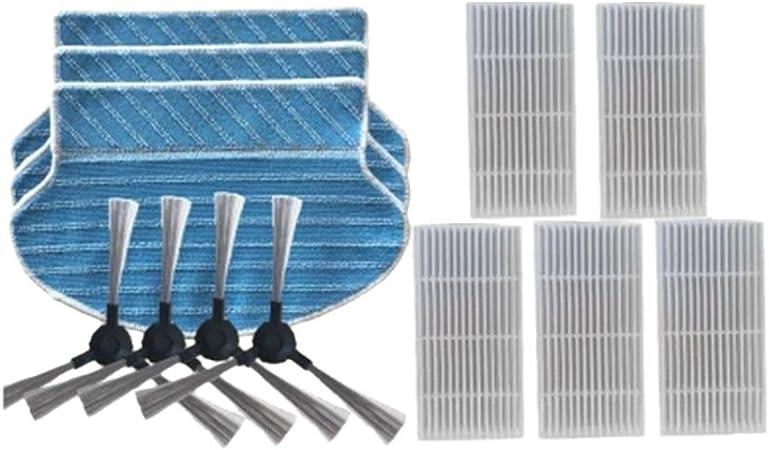Für Proscenic 790T Roboter Filter Ersatz Ersetzen Teil Reinigung Wischtuch Kits