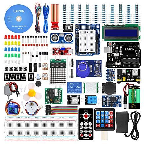 LAFVIN for UNO Ultimate Starter kit for Arduino R3 Mega2560 Mega328 Nano with Tutorial