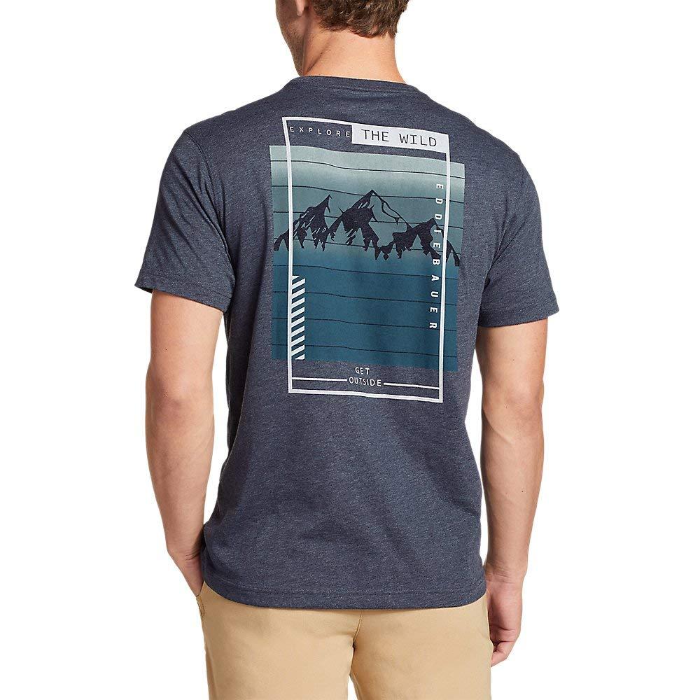 The Wild Eddie Bauer Mens Graphic T-Shirt