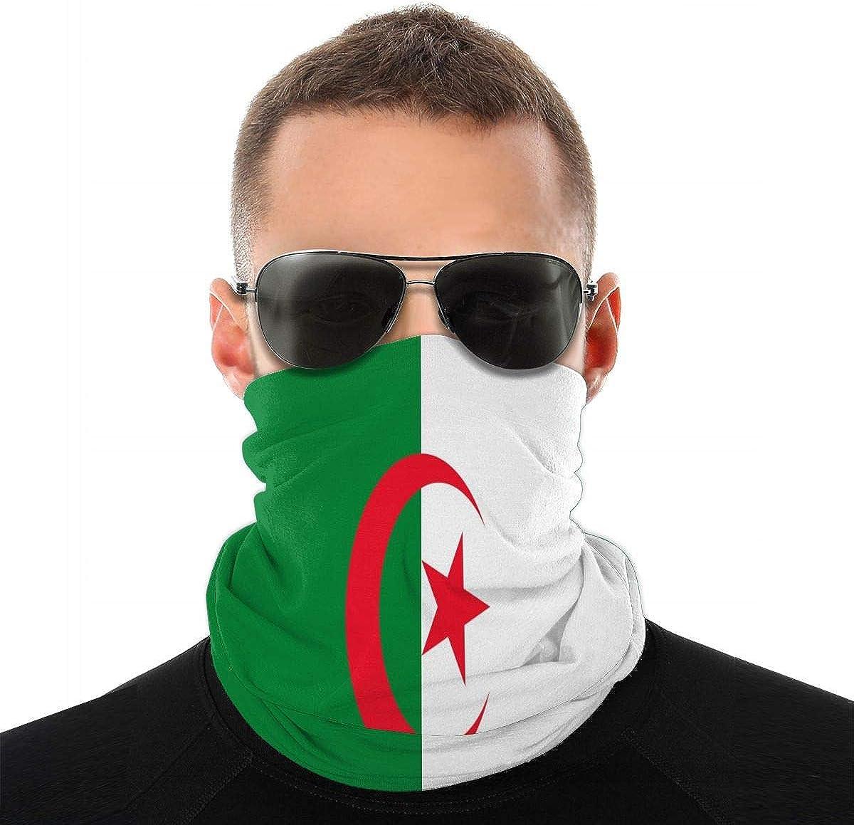 KiuLoam Belgium Flag Seamless Face Mask Bandanas Neck Gaiter for Men and Women