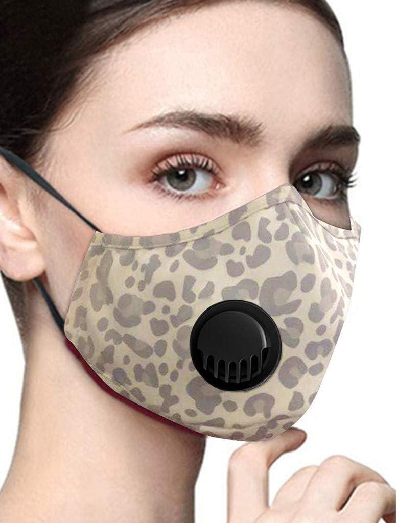 CRRE 1PC Face M/àsc Bandanas Dustproof Carbon Valvefilter Reusable Breathable and Comfortable For Adults and Children A