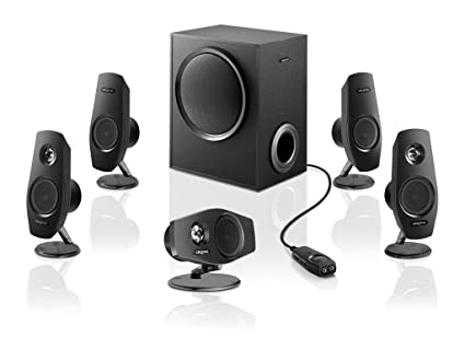 Creative Labs Creative Inspire T6060 Negro altavoz - Altavoces (22 W, 40-20000