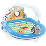 Amazon Com Step2 Play And Shade Pool Toys Amp Games
