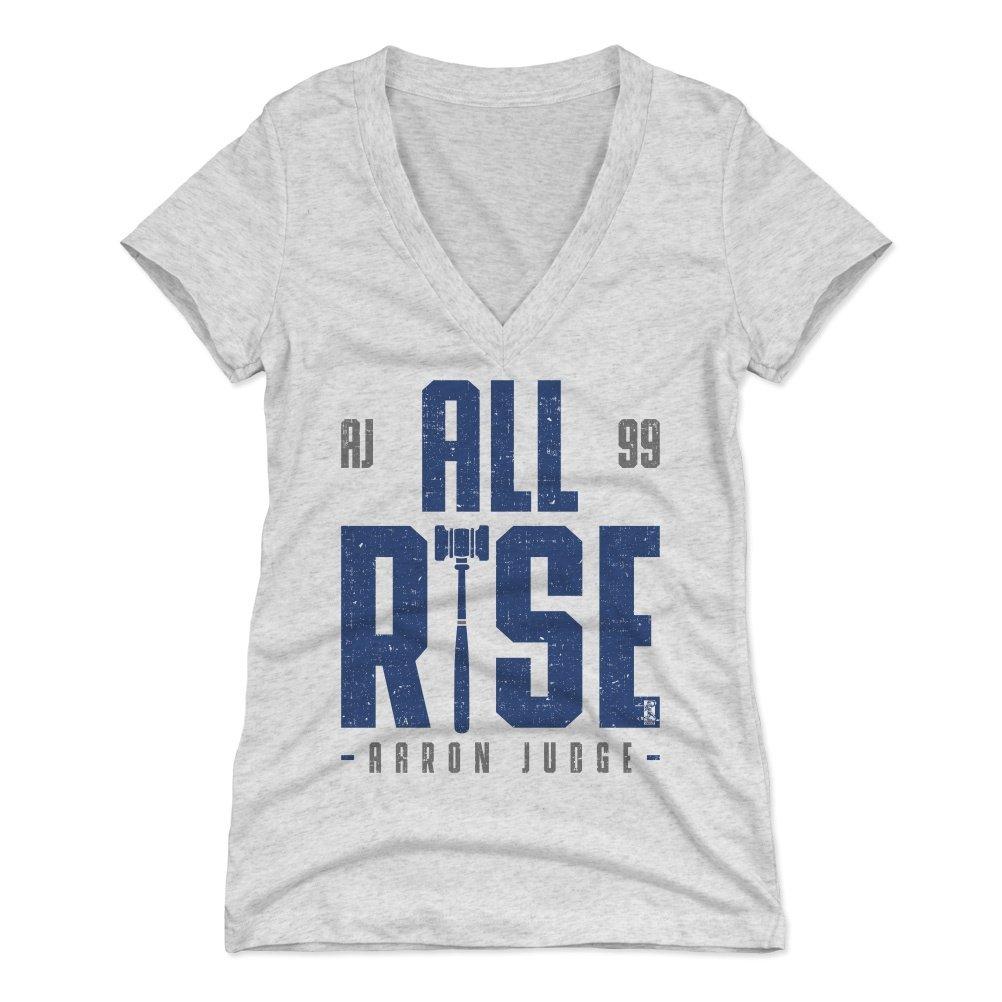 Amazon.com   500 LEVEL Aaron Judge Women s Shirt - New York Baseball  Women s Apparel - Aaron Judge Rise   Sports   Outdoors 937c355a52b
