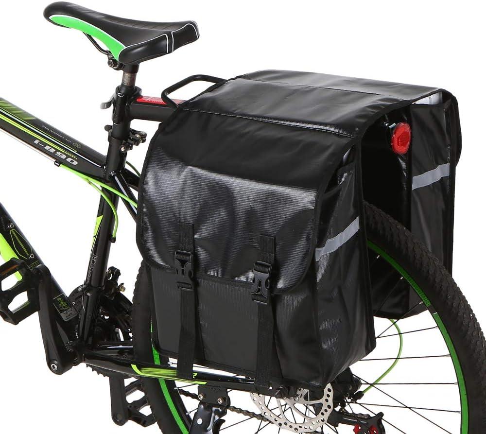 Lixada 28L Bolsa de Maletas de Bicicleta Bolsa de Bicicleta ...