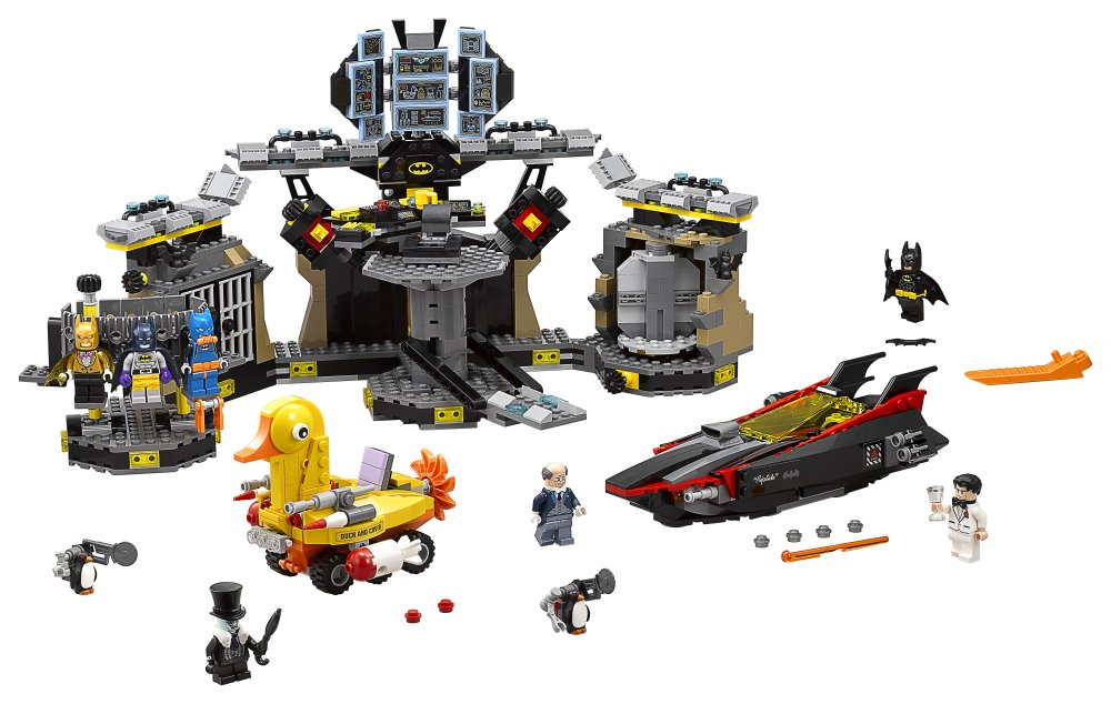 Lego Batman Movie - Scasso alla Bat-caverna (70909) Catalogo 2017 prezzo scontato