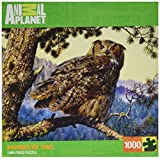 Masterpieces Great Horned Owl Animal Planet Jigsaw Puzzle (1000-Piece)