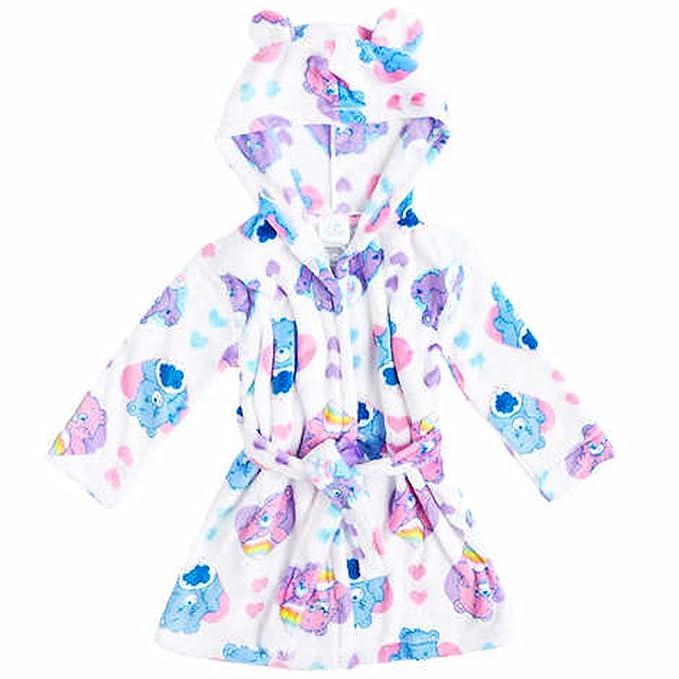 Amazon.com: Character Kids\' Velvet Fleece Hooded Robe: Clothing
