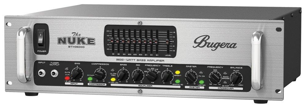 Bugera BTX36000 - Amplificador bajo amplificador ecualizador 3600 w: Amazon.es: Instrumentos musicales