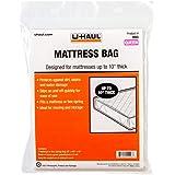 "U-Haul Standard Queen Mattress Bag – Moving & Storage Cover for Mattress or Box Spring – 92"" x 60"" x 10"""