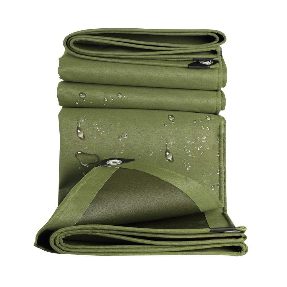 LIXIONG オーニング屋外の シェード キャンバス 老化防止 引き裂き抵抗 日焼け止め レインプルーフ 防水シート、 18サイズ (色 : 緑, サイズ さいず : 2.8x4.8m) 2.8x4.8m 緑 B07Q7X1R7G