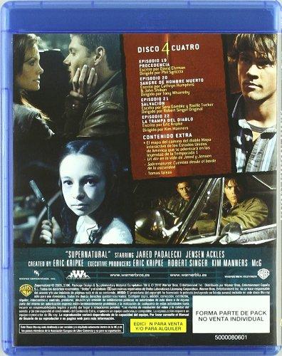 Sobrenatural: Primera Temporada [Blu-ray]: Amazon.es: Varios: Cine ...