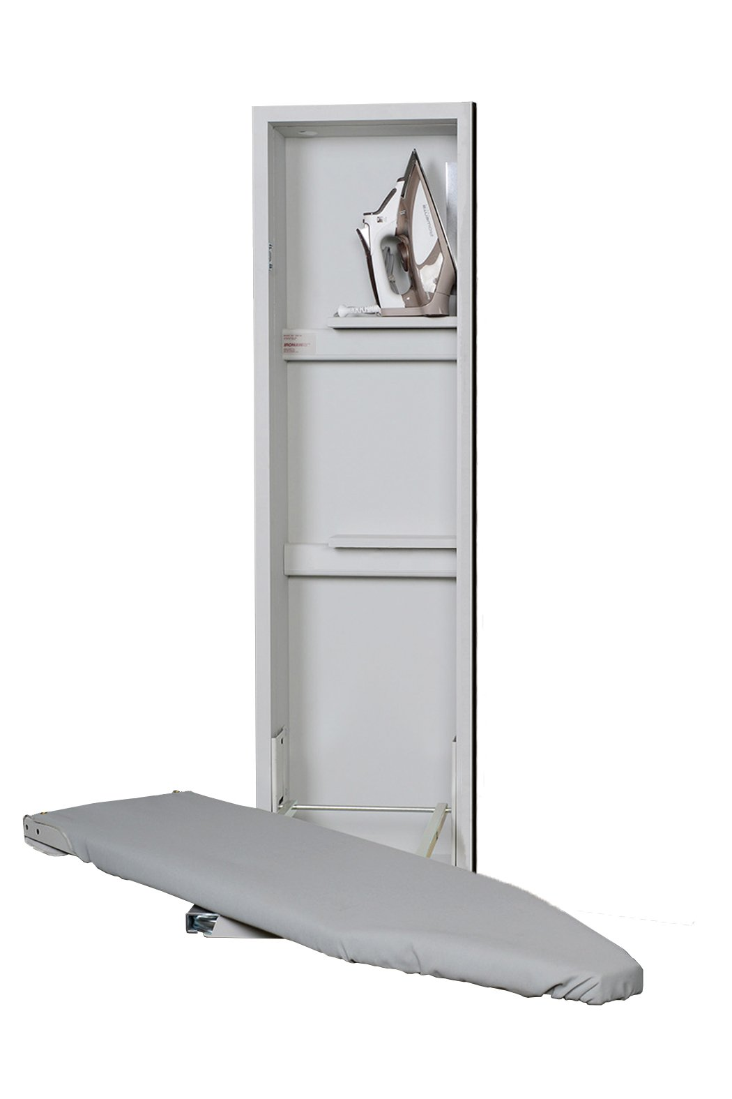 Iron A Way ANE-42 Deluxe Non-Electric Swivel Ironing Center, No Door