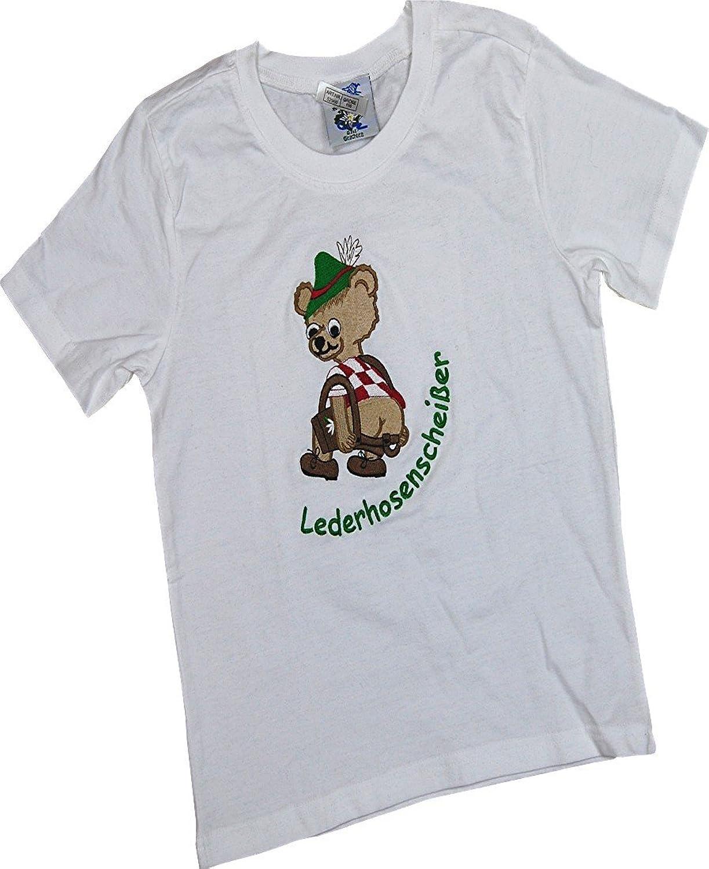 Kinder Shirt Lederhosenscheißer