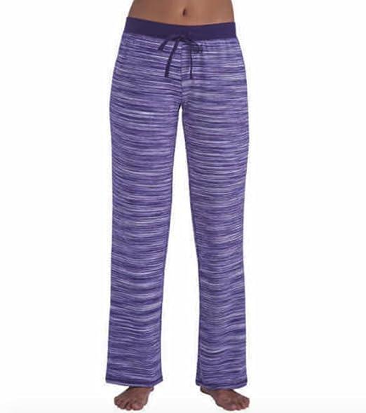 536fca4af9 KN Karen Neuburger Live Love Lounge Sweat Pants Purple Spacedye ...