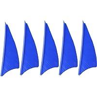 ZSHJG 50piezas Plumas de Flecha 2 Pulgadas Tiro con Arco Pluma Natural Fletching