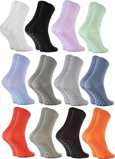 Rainbow Socks Damen Herren Sneaker Bambus Stoppersocken