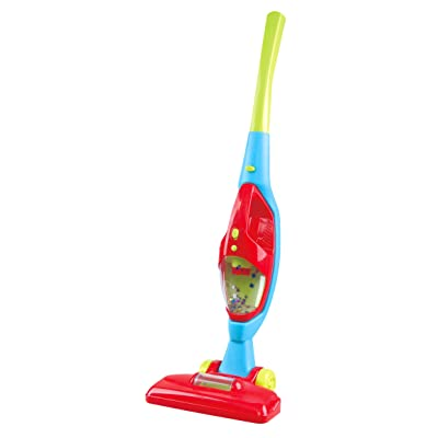 PlayGo 2 in 1 Household Vacuum Cleaner, Red Blue Green: Toys & Games