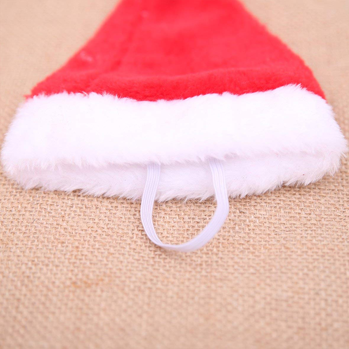 Tivolii Dog Holiday Christmas Hat Puppy Dog Santa Hat Costume Christmas Collection Pet Accessory for Cat Rabbit Hamster Guinea Pig