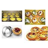 Pack of 25 Pcs Mini Tiny Pie Muffin Cupcake Pans