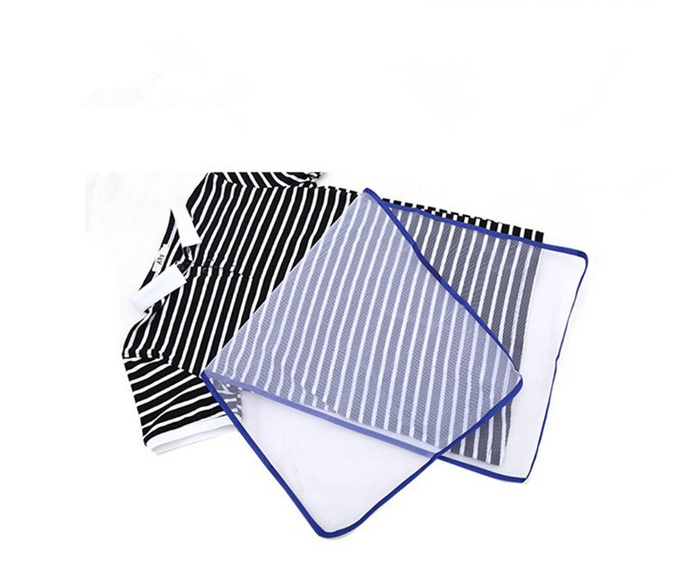 homiki 1pc Ironing Cloth Mesh Polyester Length Heat Resistant engrener Protective Ironing Cloth 40x 40x 90cm White PG