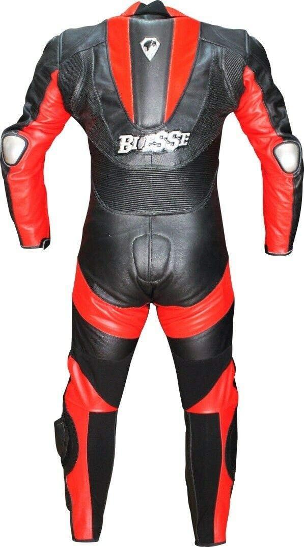 rot Modell Frecciarossa XS schwarz BIESSE Motorradkombi aus echtem Rindsleder f/ür den professionellen Einsatz auf der Rennstrecke