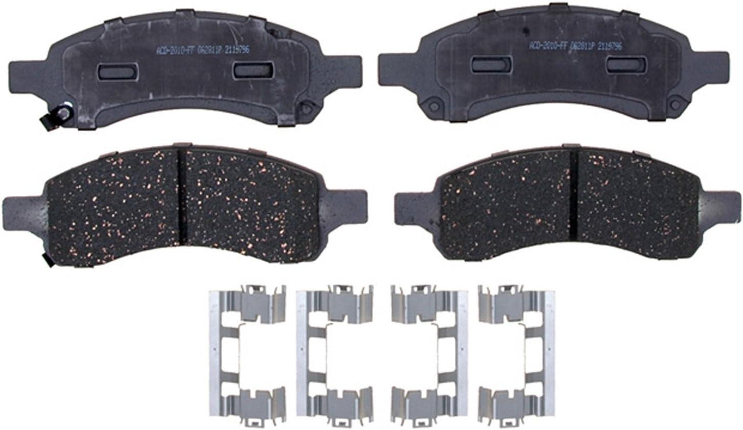 AC Delco Advantage Ceramic Front Disc Brake Pad Set