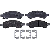 ACDelco Silver 14D1169ACH Ceramic Front Disc Brake Pad Set with Hardware