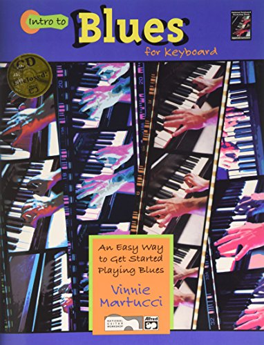 Intro to Blues Keyboard: Book & CD