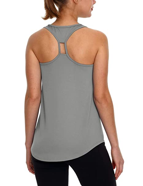 Clothing Baleaf Womens Yoga Shirts Workout Tank Tops Athletic Racerback Tank