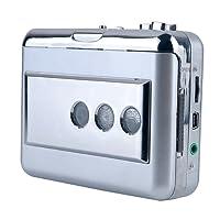 Y&H Portable Cassette Tape Player Record Cassette to MP3 Digital Converter,USB Cassette Converter fit for Standard tapes