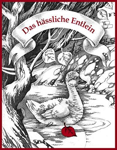 Das hässliche Entlein (Schwarz-Weiß-Version): Hans Christian Andersen (Kinderbücher von Oksana Ignaschenko) (German Edition)