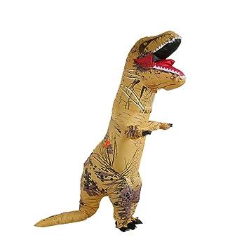 Inflable Grande de T-Rex del Dinosaurio Estallar Partido del Traje ...