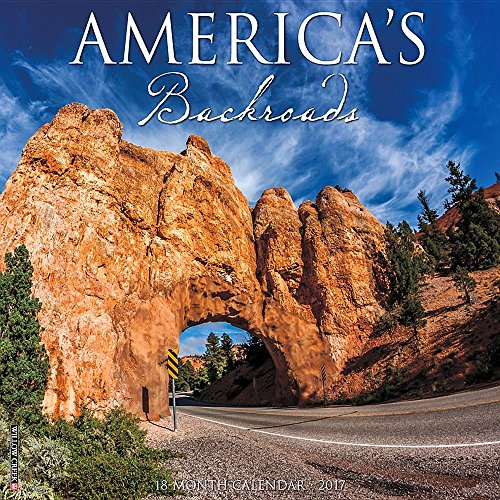 America's Backroads 2017 Wall Calendar - 24