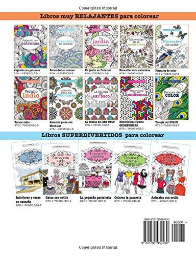 Libros para Colorear Adultos 9: Maravillosas figuras GEOMÉTRICAS ...