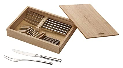 Villeroy & Boch Piemont Cubertería de bistec, Para hasta 6 personas, 12 piezas,
