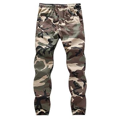 Homme Sexy Pantalon de Sport en Polyester Casual Baggy Pantalon de Jogging  Fitness Loose Crotch Poches b302f33d4a0