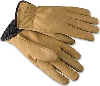 product image for Filson Clothing: Men's Goat Skin Wool Lined Work Gloves 62022 LTN - Tan
