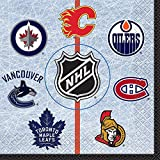 Unique 59382 NHL Hockey Party Napkins, 16 Countt