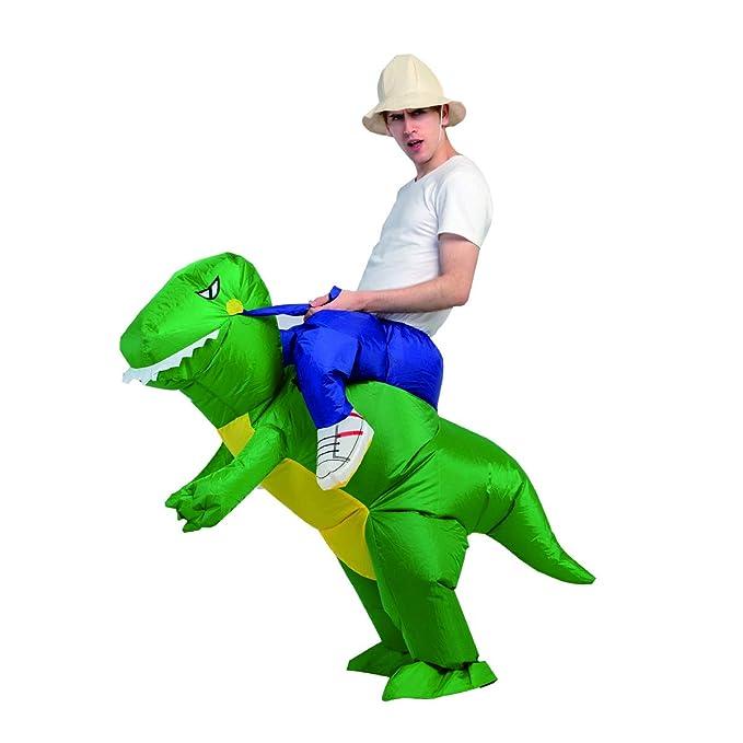 Amazon.com: Disfraz de dinosaurio inflable para Halloween ...