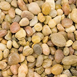 Spectrastone Shallow Creek Pebble for Freshwater Aquariums, 5-Pound Bag
